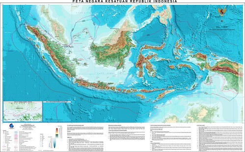 Peta Negara Kesatuan Republik Indonesia (NKRI)_Edisi-2012_high Resolution