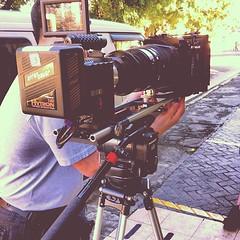 Almost shutting ! #film #ponchao #santiago #sti #bardistrict #movie #red #lenses #movie