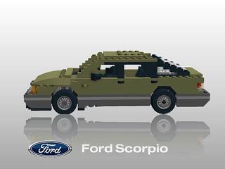 Ford Scorpio - Mk I 1985