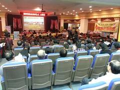 2013年1月11日桃園縣議會觀新藻礁自然保留區公聽會。(攝影:呂東杰)