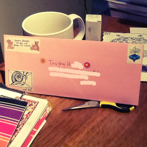 Outgoing mail 1/12/13