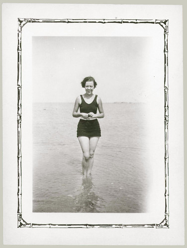 Girl in the surf