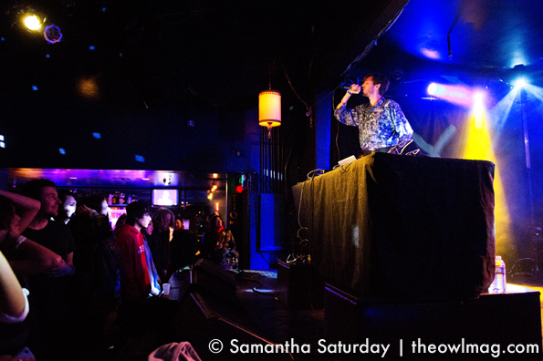 Matthewdavid @ The Echo, LA 1/10/13