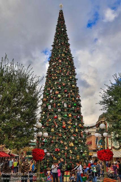 Disneyland Dec 2012 - Christmas in Town Square