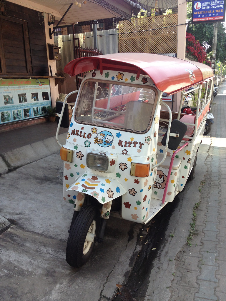 Hello Kitty at Your Service in Chiang Mai