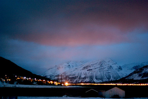 first night in manndalen