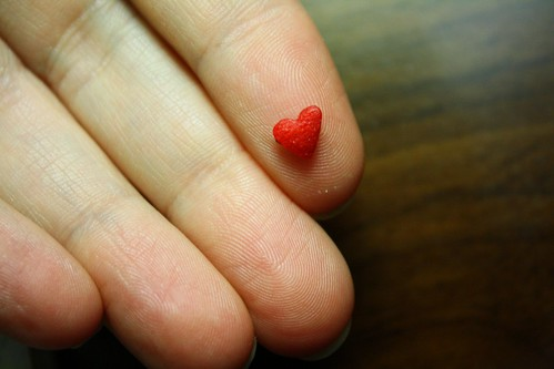 tiny heart by Rakka