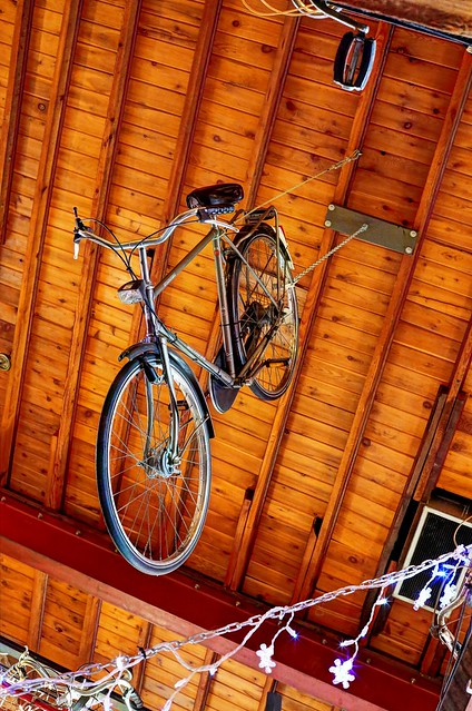Bike from the ceiling