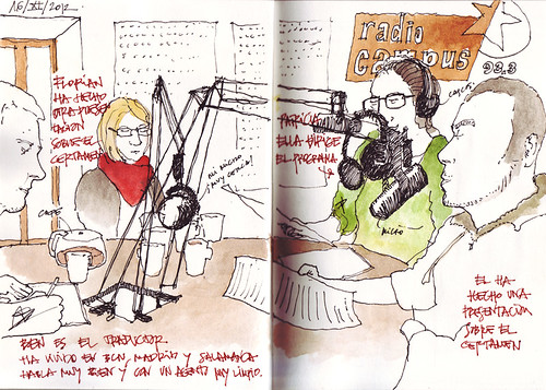 Clermont-Ferrand: entrevista en radio
