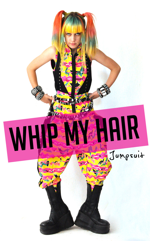 Kazzthespazz.com | Whip My Hair Jumpsuit