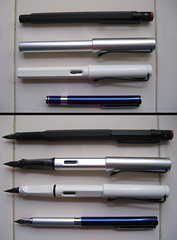 oldtools, fountain pens: closed-open