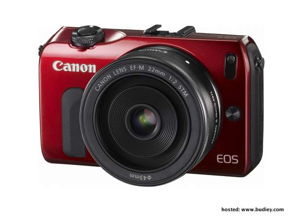 Canon EOS M Red