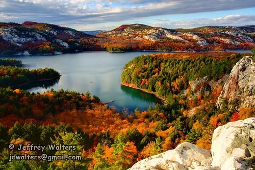 autumn ontario canada mountains lakes fallfoliage quartz thecrack killarneyprovincialpark