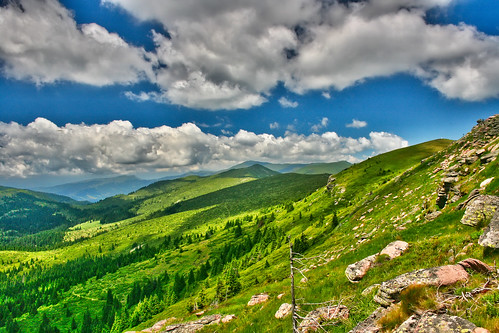 HDR based on 3 photos, Stara planina