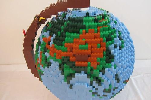 dirks LEGO globe - closeup 05 asia