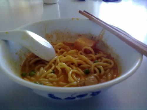 Curry laksa instant noodle 2