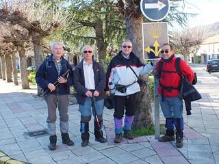 Los pioneros han concluído la etapa La Mata de Monteagudo Cistierna