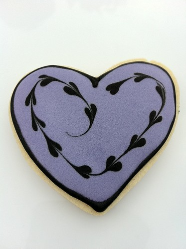 Cookies for Cauderys 01 - Heart cookies