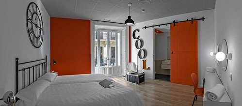 Habitación doble de U Hostels (Madrid)