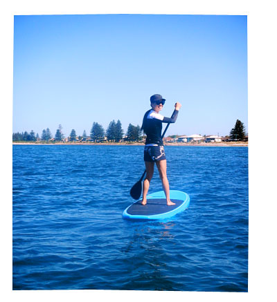 Stand Up Paddling for Valentines