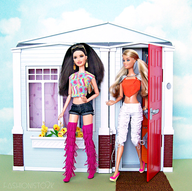 Barbie showing property