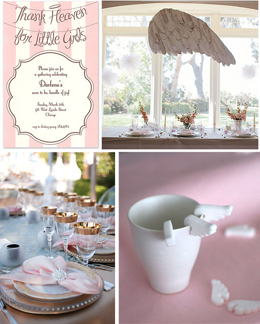 Thank Heaven for Little Girls: A Baby Shower