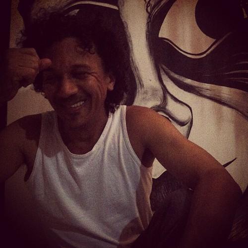 O grande artista e amigo Rai Carvalho