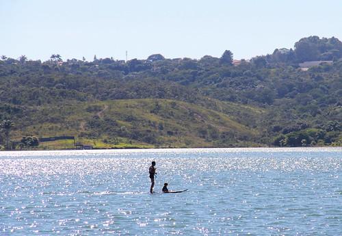 SUP no Lago Paranoá