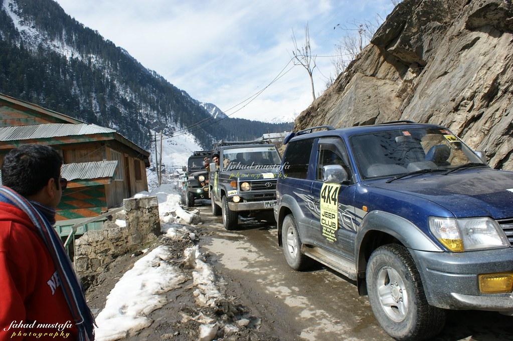 Muzaffarabad Jeep Club Neelum Snow Cross - 8470817819 3116399064 b
