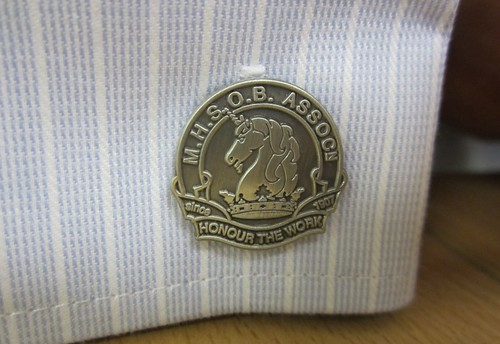 Melbourne High School Old Boys Association cufflink