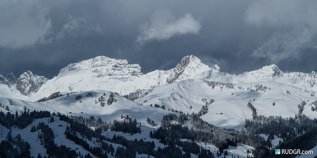 View over the Zweisimmen area.