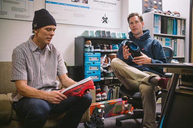Rick Howard & Scott Johnston Reviewing the new Rick Howard Shoe