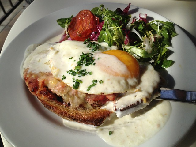 Croque madame - Cafe Chloe