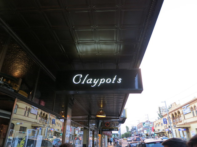 Claypots Seafood and Wine: outside
