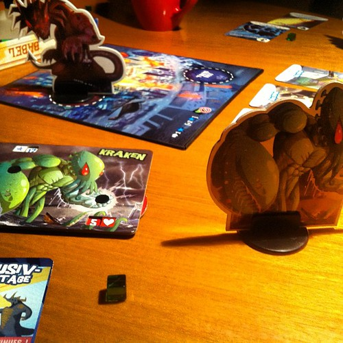 King of Tokyo - awesome game if you're into monsters (and who isn't?)