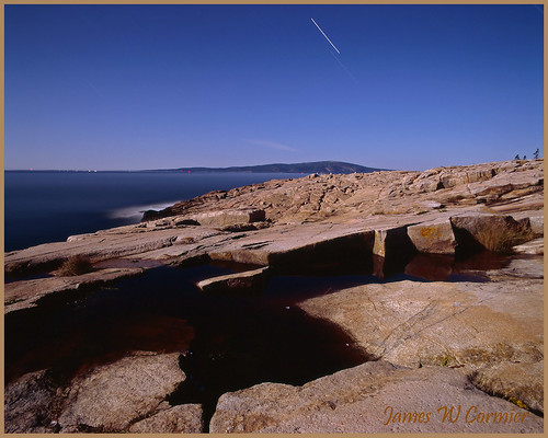 Ektachrome Blue on The Rocks by Nightfly Photography