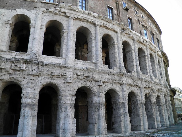 Theatre of Marcellus, Circus Flaminius to Circus Maximus, Rome