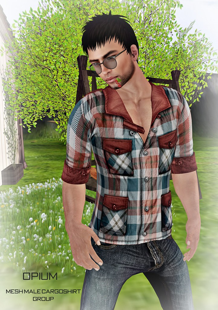 Opium Mesh Male CargoShirt GROUP