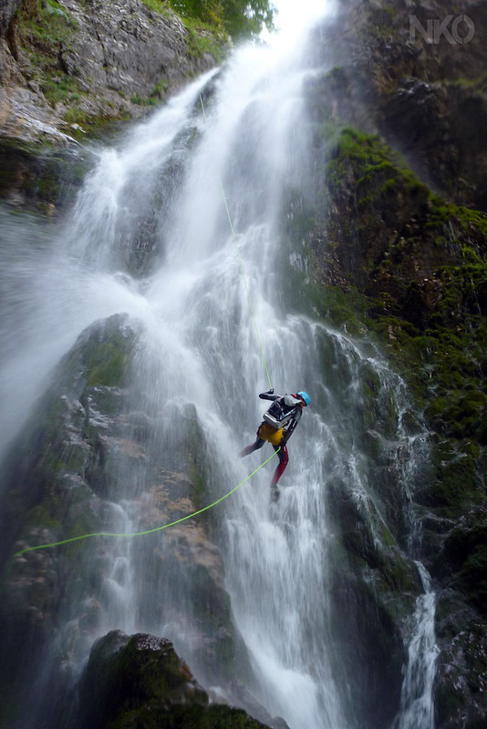 Canyoning in Sharrambaut d'Anaye 2011