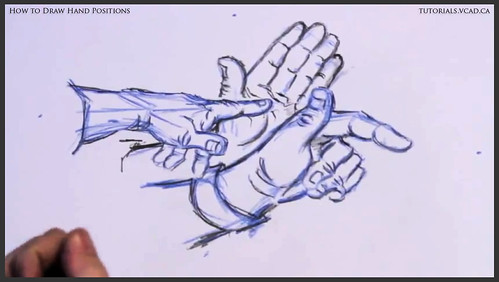 learn how to draw hand positions 014
