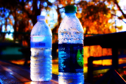 photomanipulation sunrise digitalart litter waterbottle wardpark arteffects