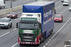 Volvo FH 6x2 Tractor - PX11 EXV - Emily Louisa - Eddie Stobart - M1 J10 Luton - Steven Gray - IMG_2330