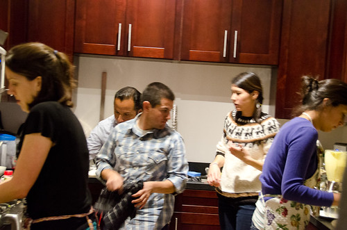 Peruvian Dinner - too many cooks in the kitchen