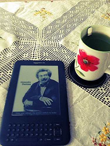 Kindle & macha tea