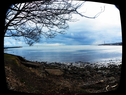 Looking toward the Pier from Beneath the Town Walls: Todays Walk 23 February 2013
