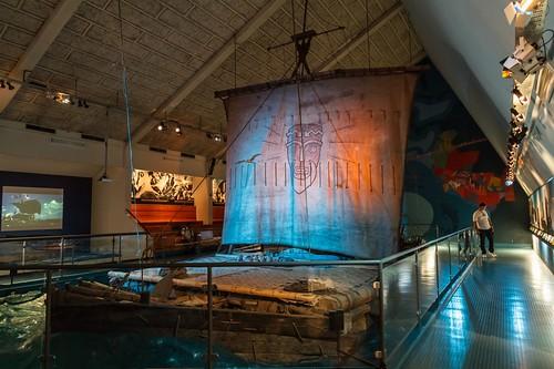 The Original Kon-Tiki Raft in the Kon-Tiki Museum, Oslo Norway (The Film