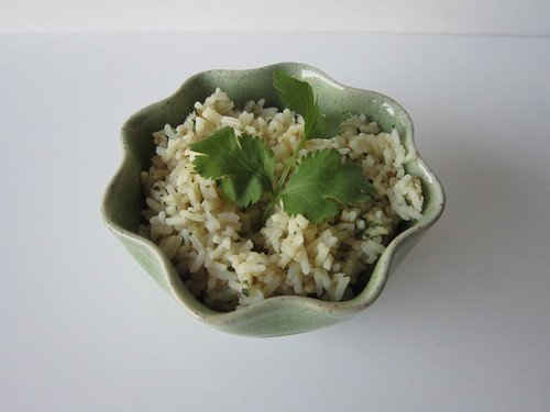 Mexican Green Cilantro Rice