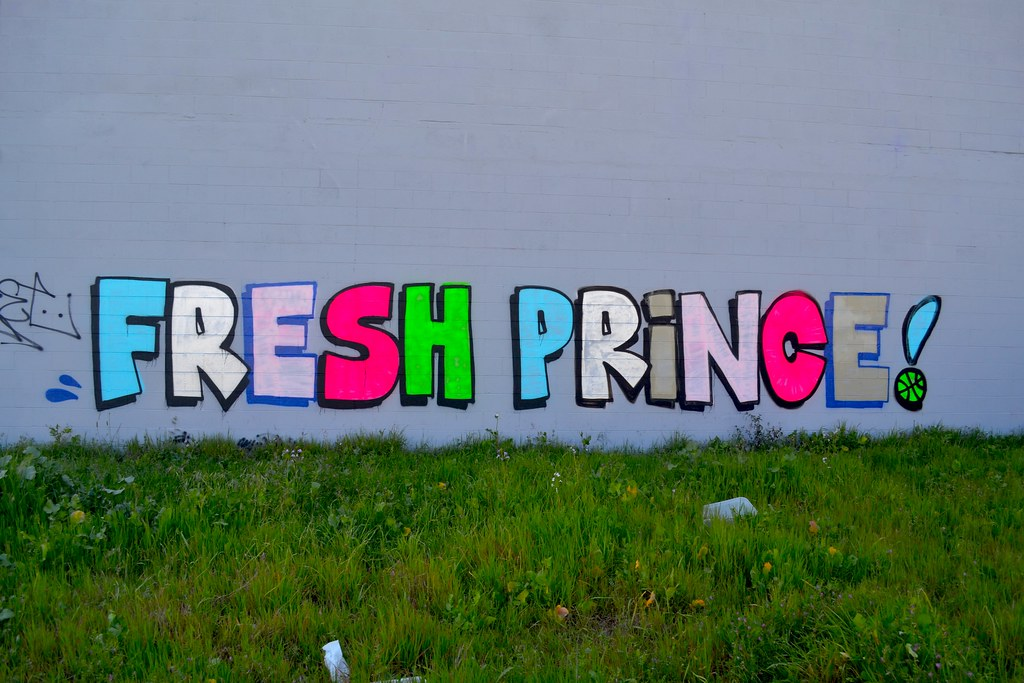 FRESH PRINCE, NASTY, Graffiti, Street Art, Oakland, Will Smith