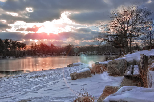 park winter lake snow water boston landscape quincy blinkagain bestofblinkwinners rememberthatmomentlevel1