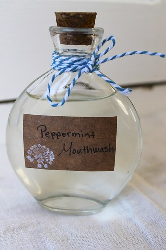 Natural Peppermint Mouthwash Recipe - DIY Beauty and Lifestyle Recipe